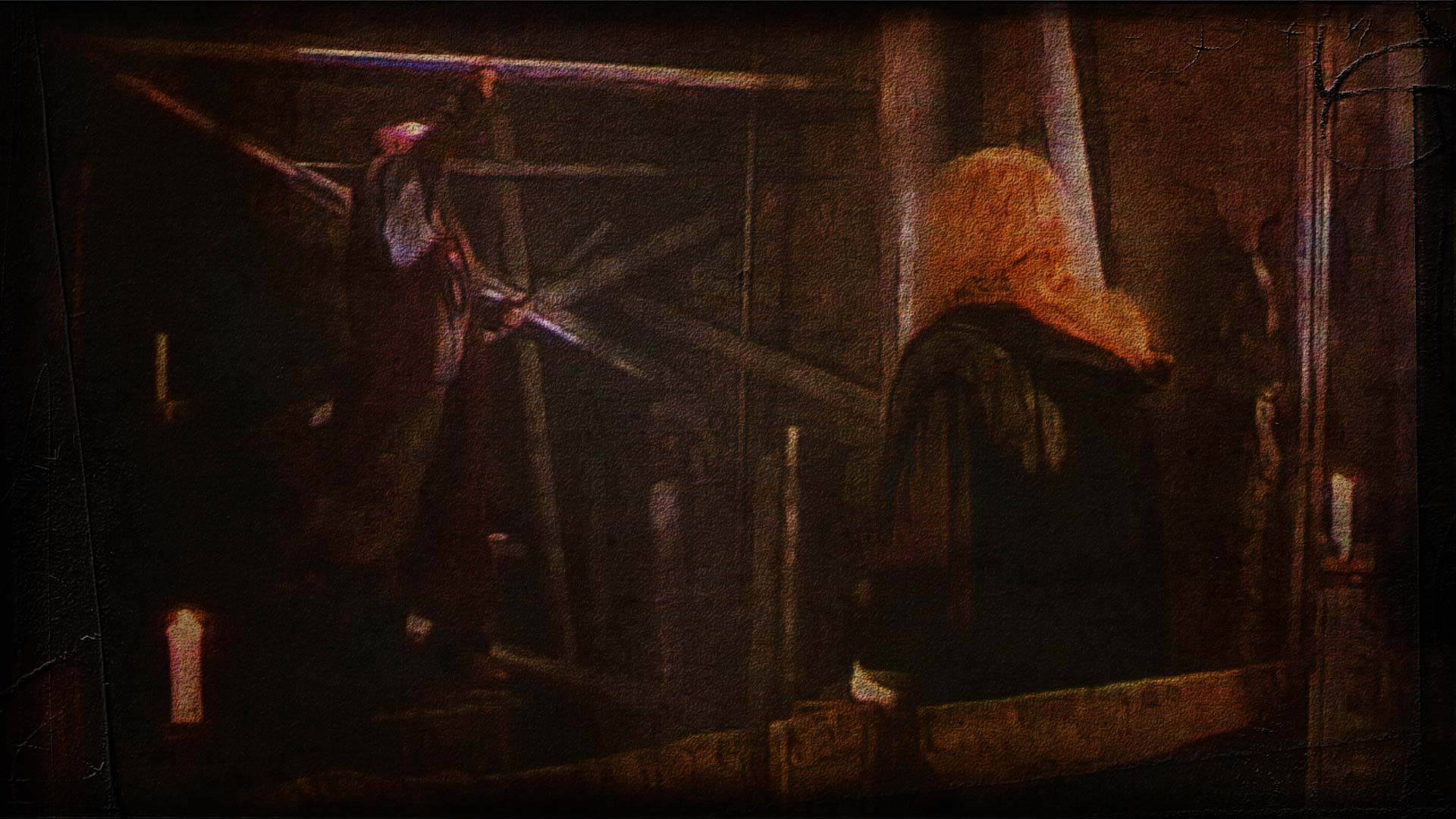 Vincent and Pascal in the pipe chamber