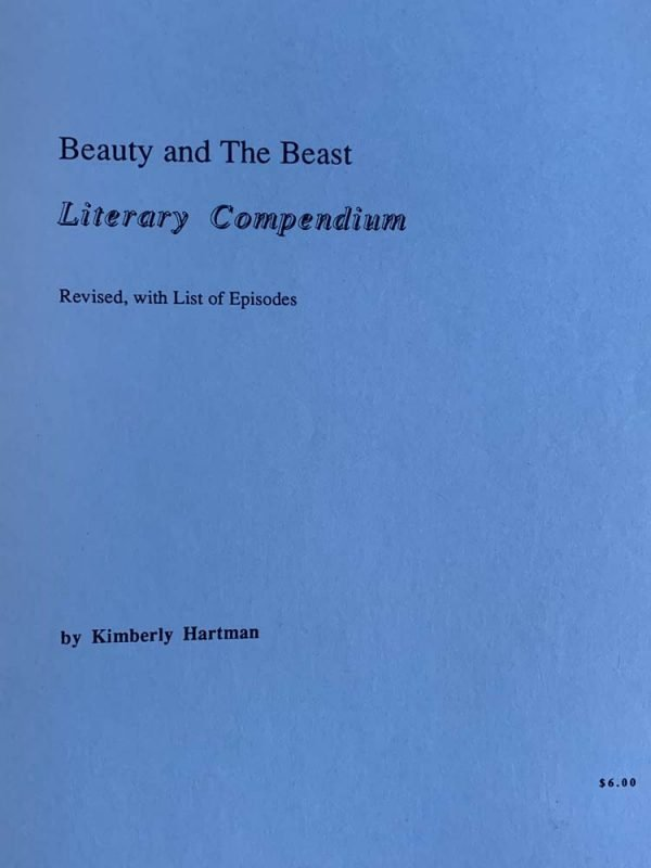 Beauty and the Beast Literary Compendium